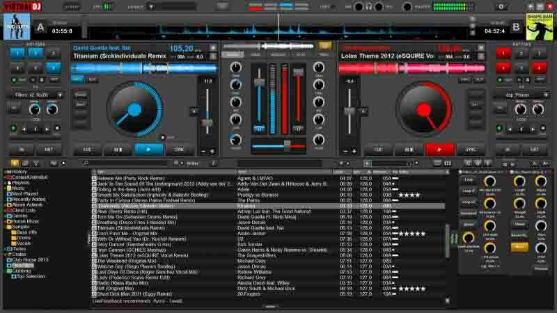 Virtual DJ 8 Serial Number + Crack Latest Free Download